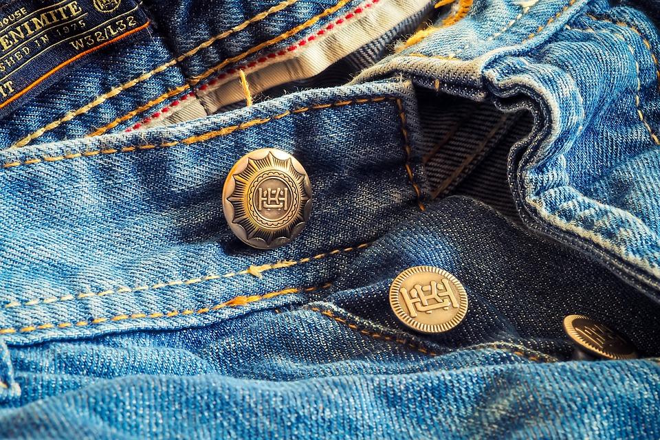 Le Jean ou tissu denim